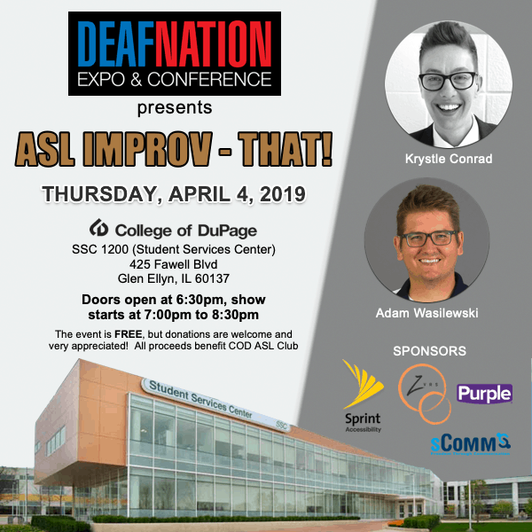 DeafNation Expo & Conference: Palatine, Illinois – DeafNation