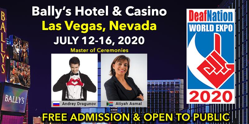 Las Vegas July 2020 Events.Deafnation Events Deafnation